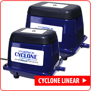 Cyclone Linear Septic Air Pumps