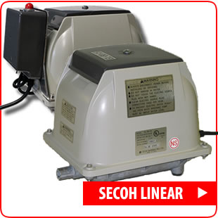 Secoh Linear Septic Air Pumps